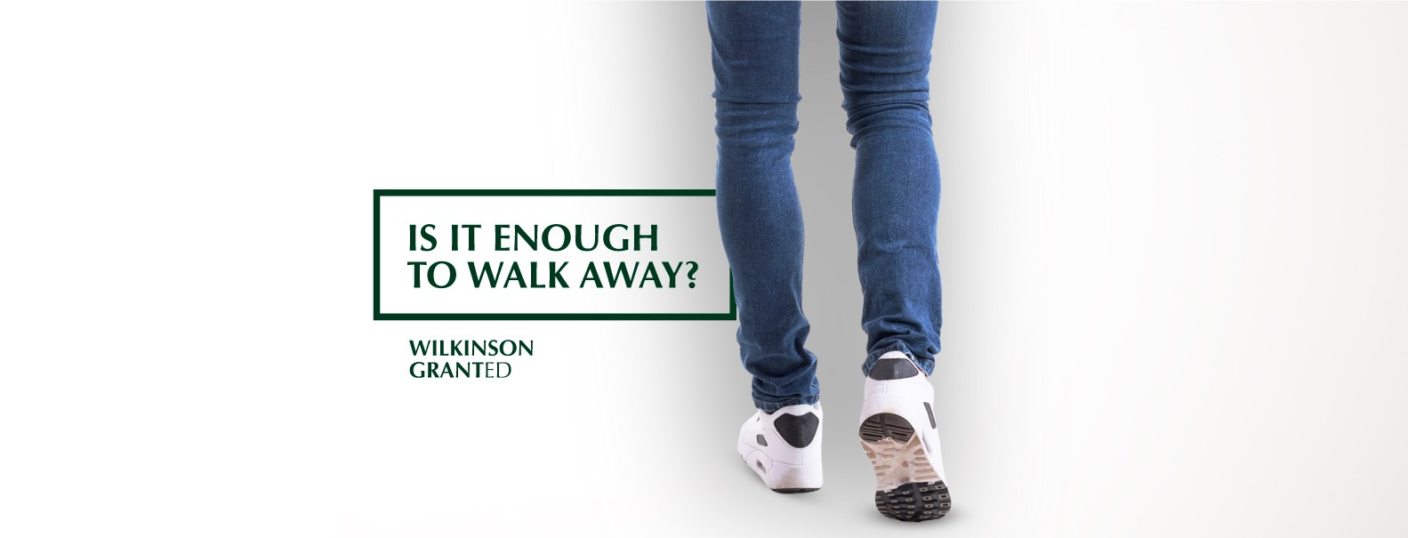 Is it enough to 'Walk Away?'